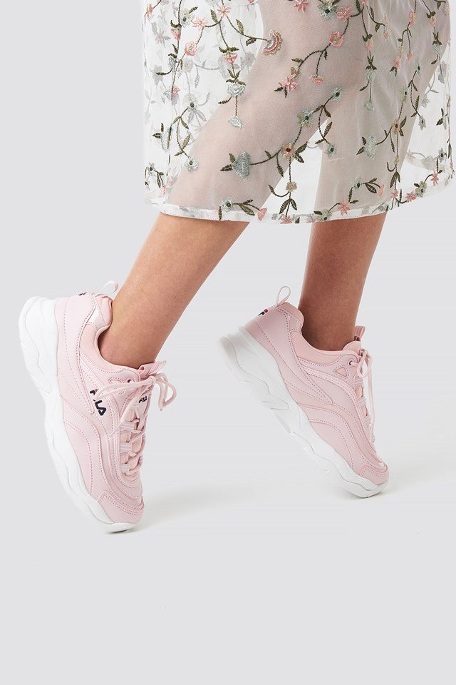 Ray F Sneaker Chalk Pink