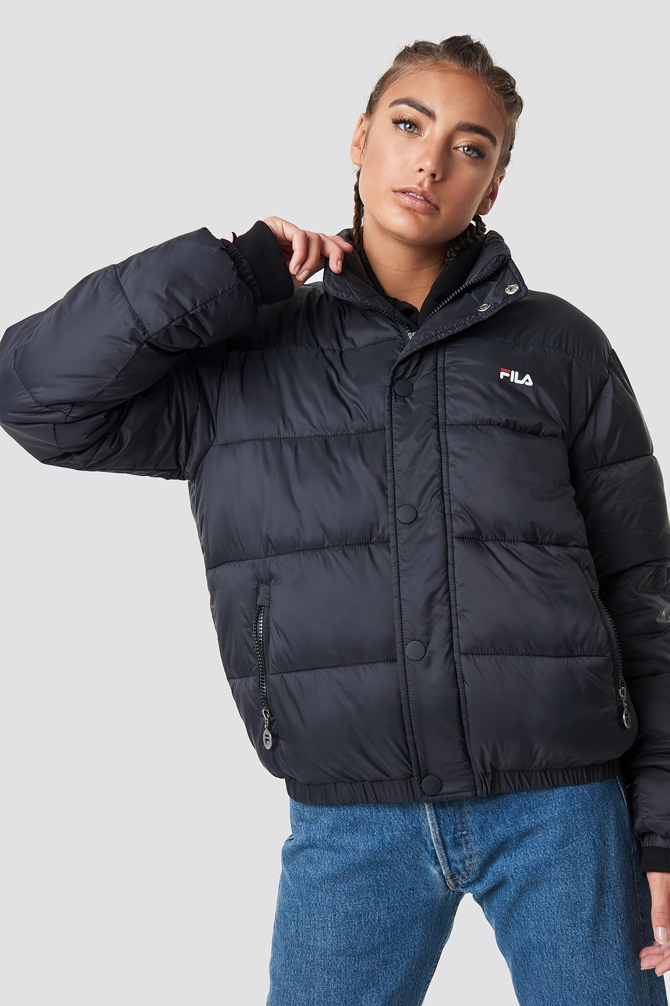 fila -  Raya Puff Jacket - Black