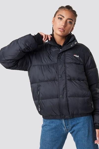 fila -  Raya Puff Jacket - Black