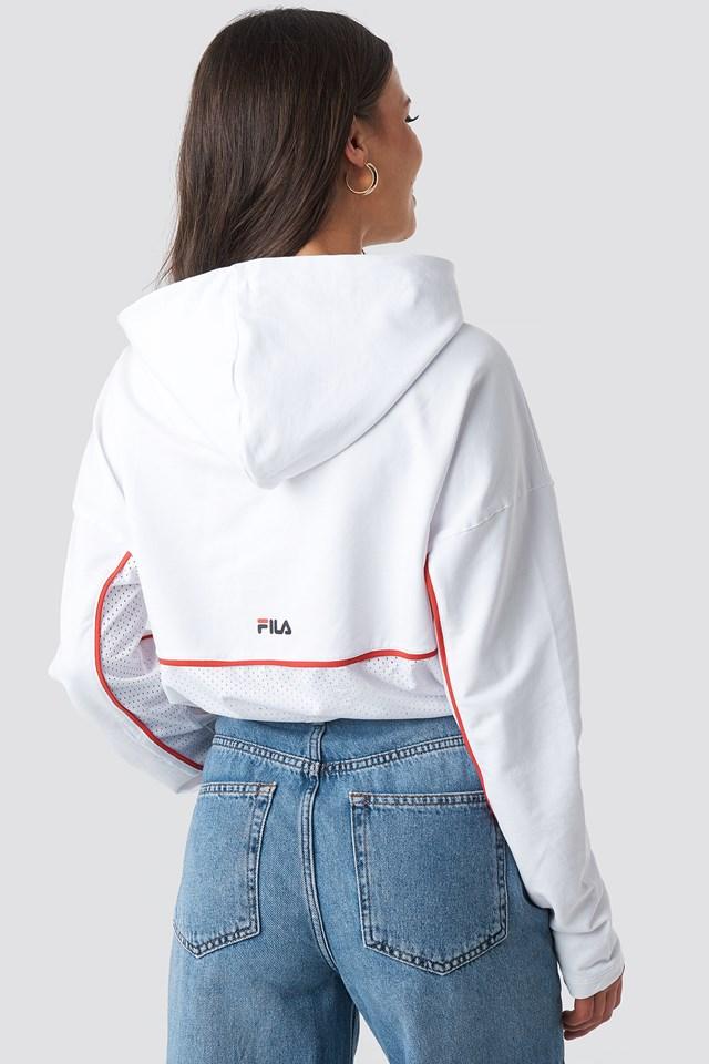 Romy Hooded Shirt Bright White