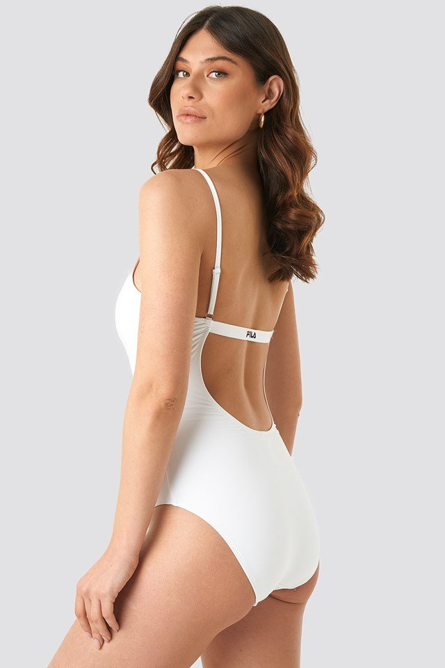 Saidi Bathing Suit Bright White