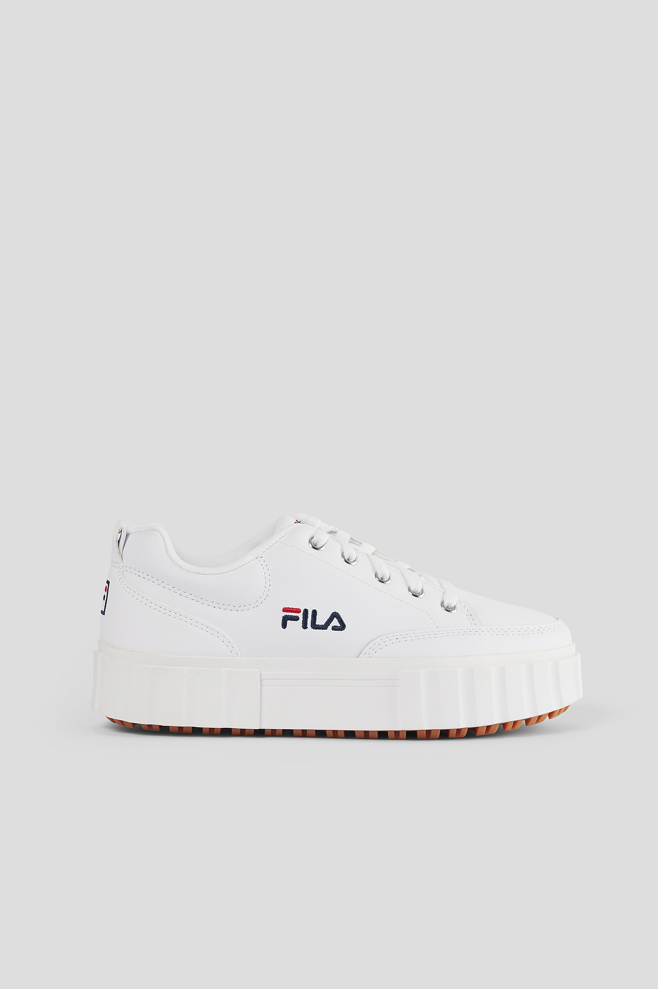 Fila Sandblast Low Wmn White