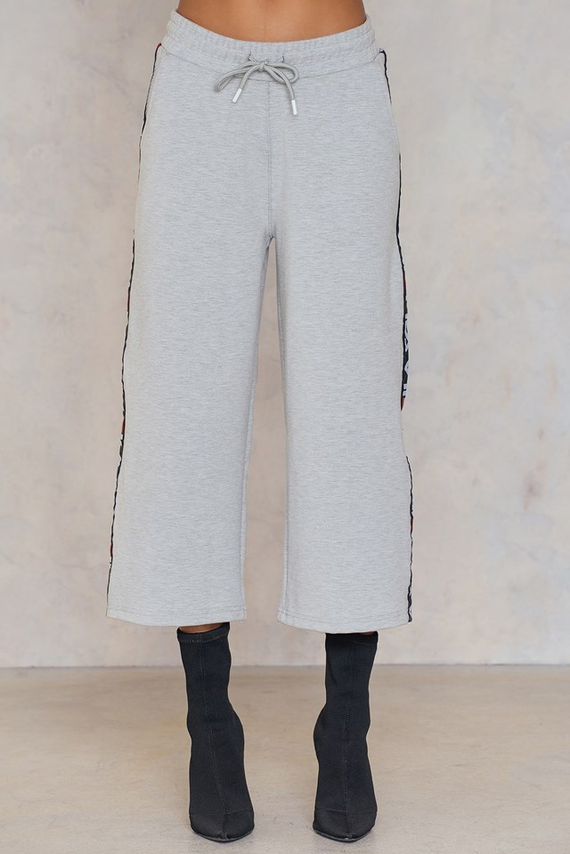 Tiffany Pants Light Grey Melange Bros