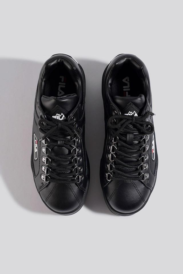 Trailblazer Wedge Wmn Sneaker Black/Black/White