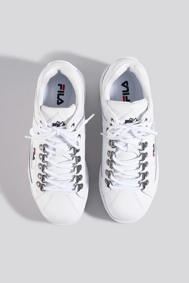 Trailblazer Wedge Wmn Sneaker White/Navy/Red