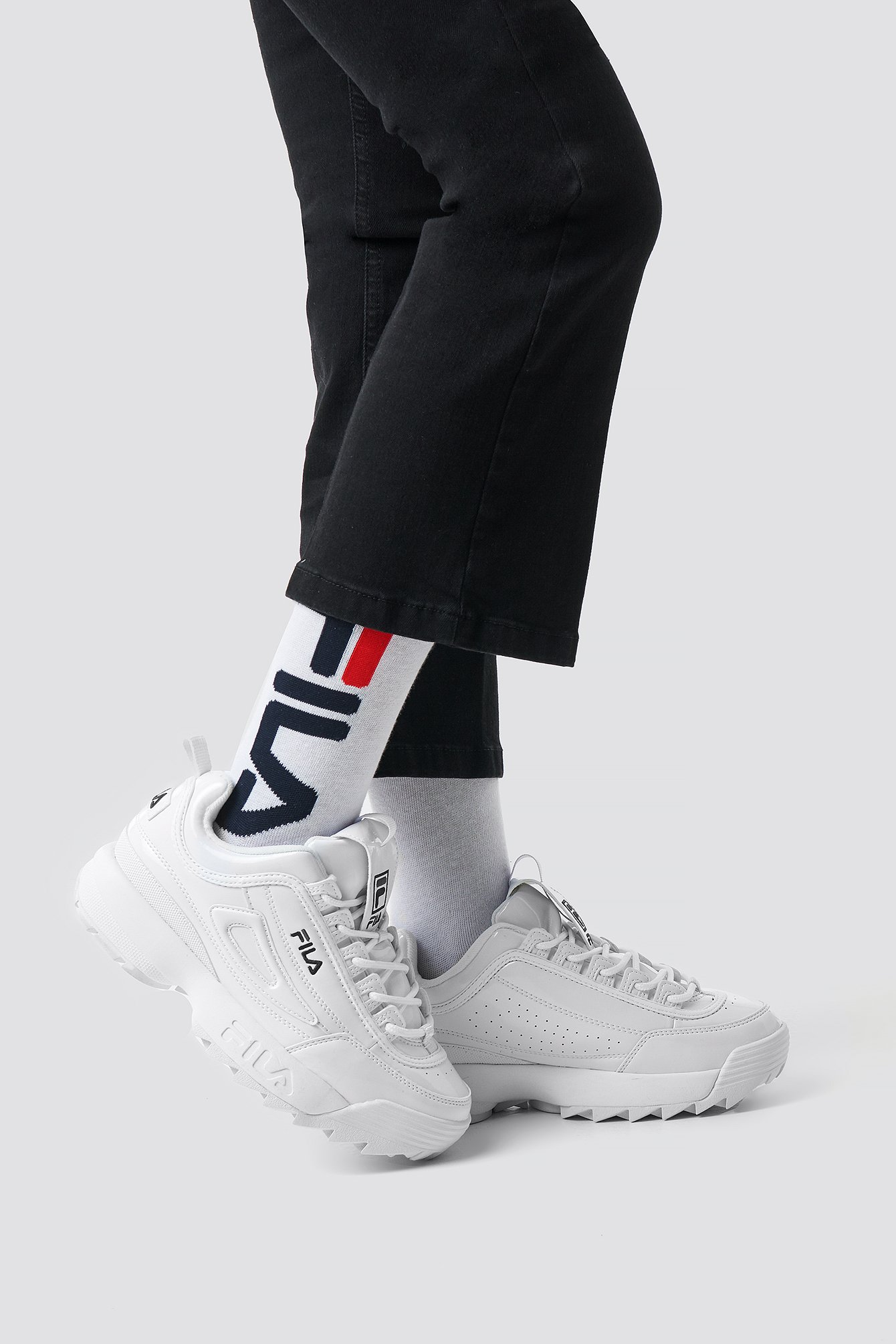 fila -   Urban Socks - White