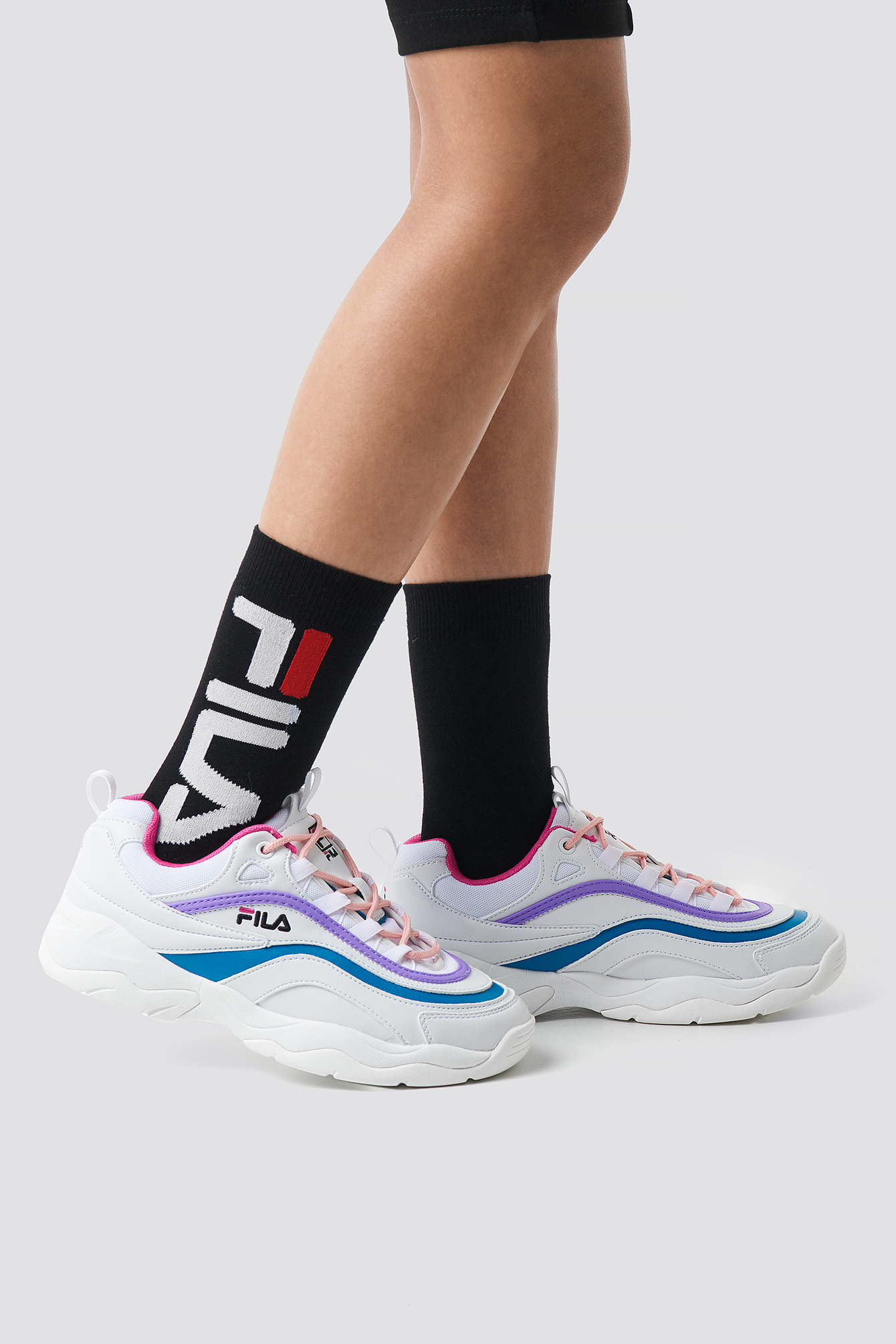 fila -   Urban Socks - Black