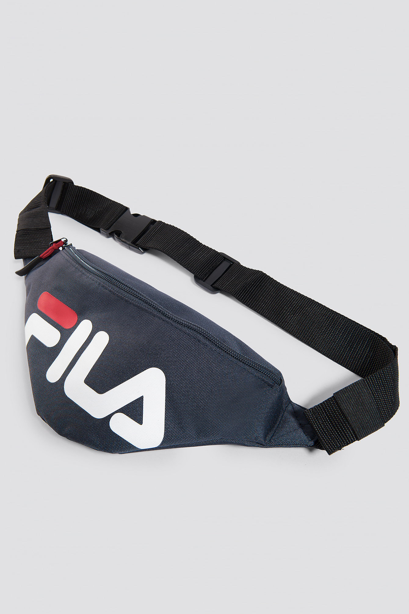 Waist Bag Slim Peacoat Ready Stock Fila Zipper On