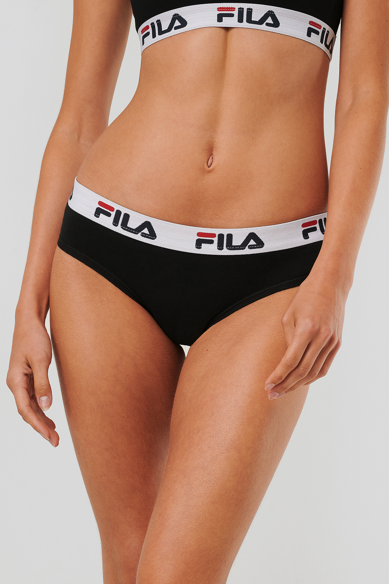 Black Fila Brief FU6043