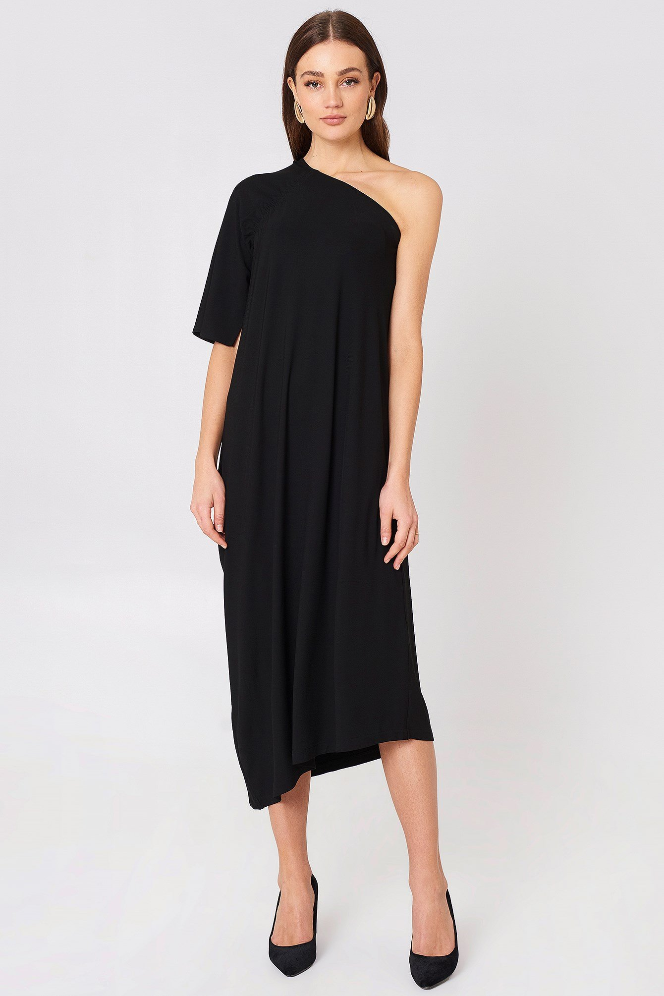 Asymmetric Evening Dress NA-KD.COM