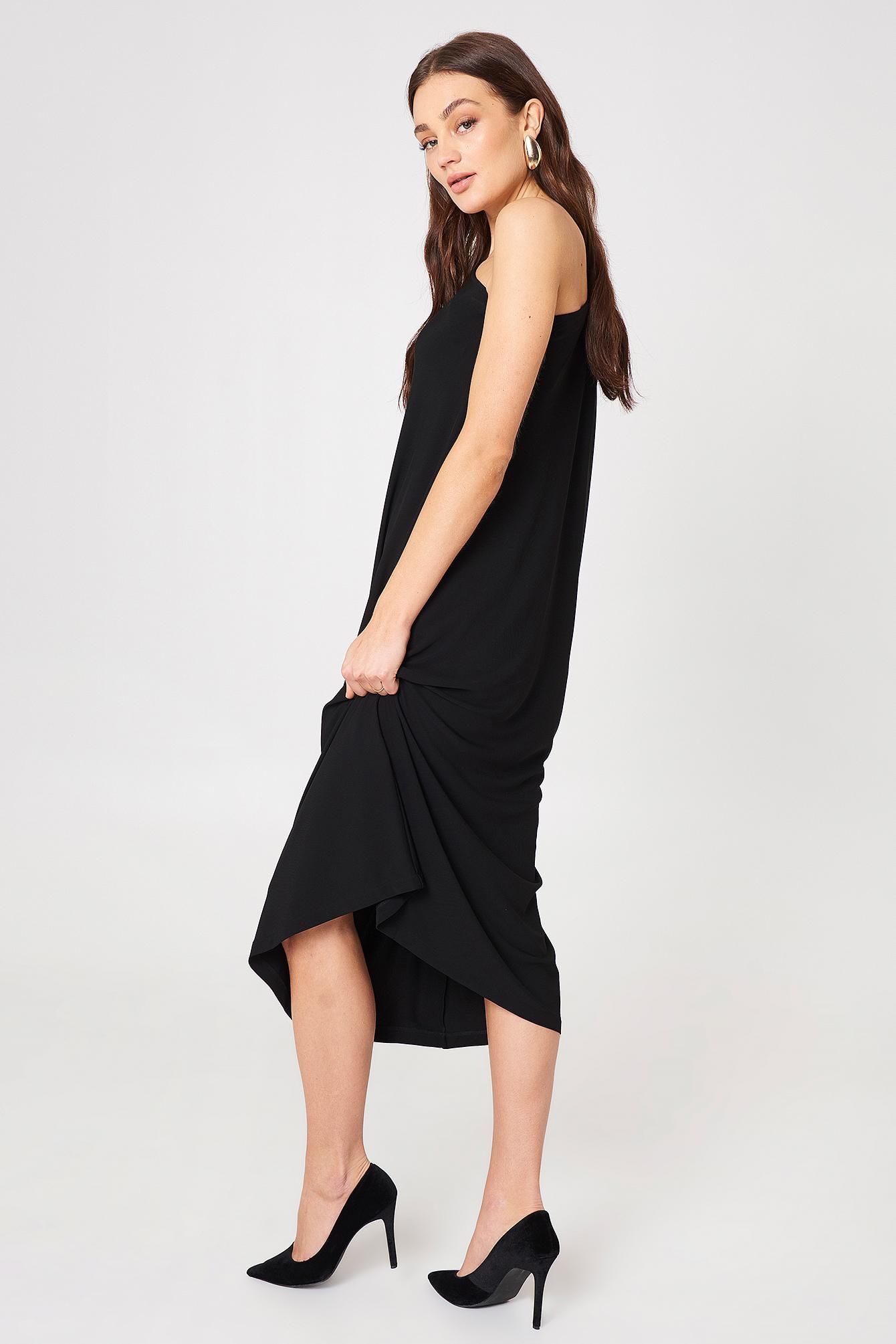 Asymmetric Evening Dress NA-KD.COM