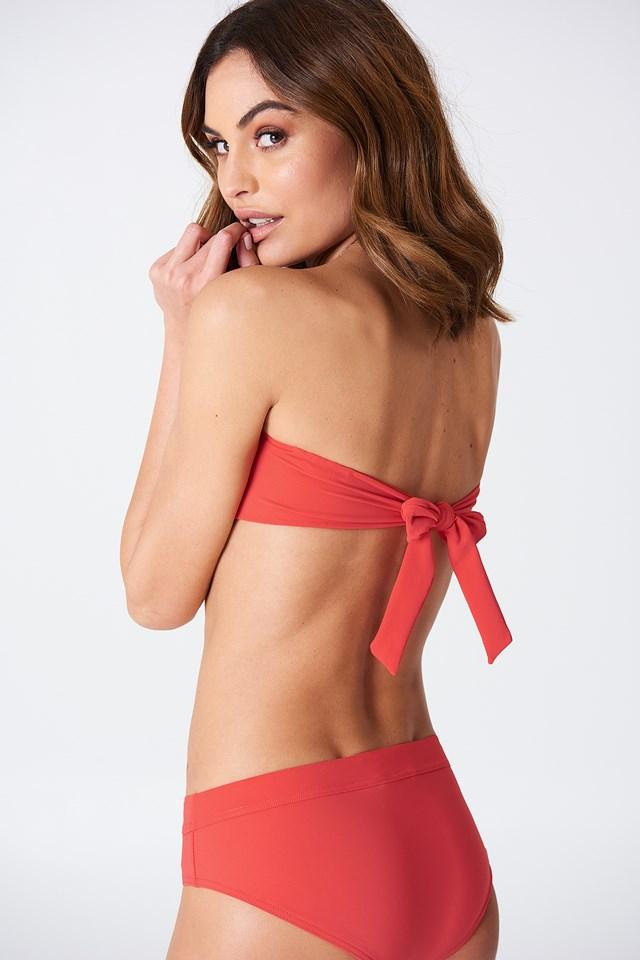 Bandeau Bikini Top Scarlet