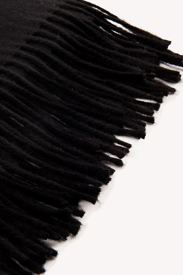 Cashmere Blend Scarf Black