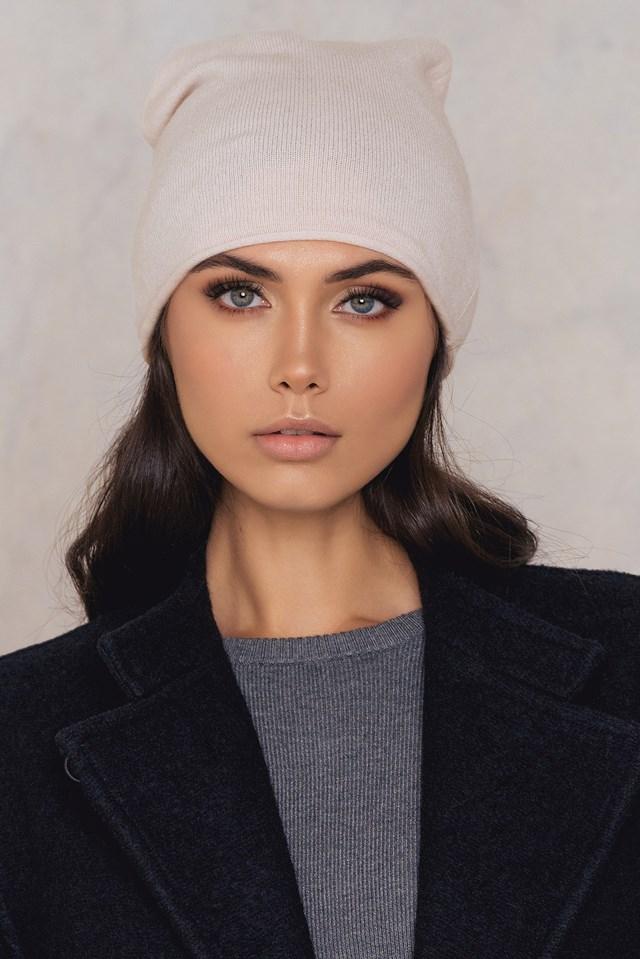 Cashmere Hat Light Blush
