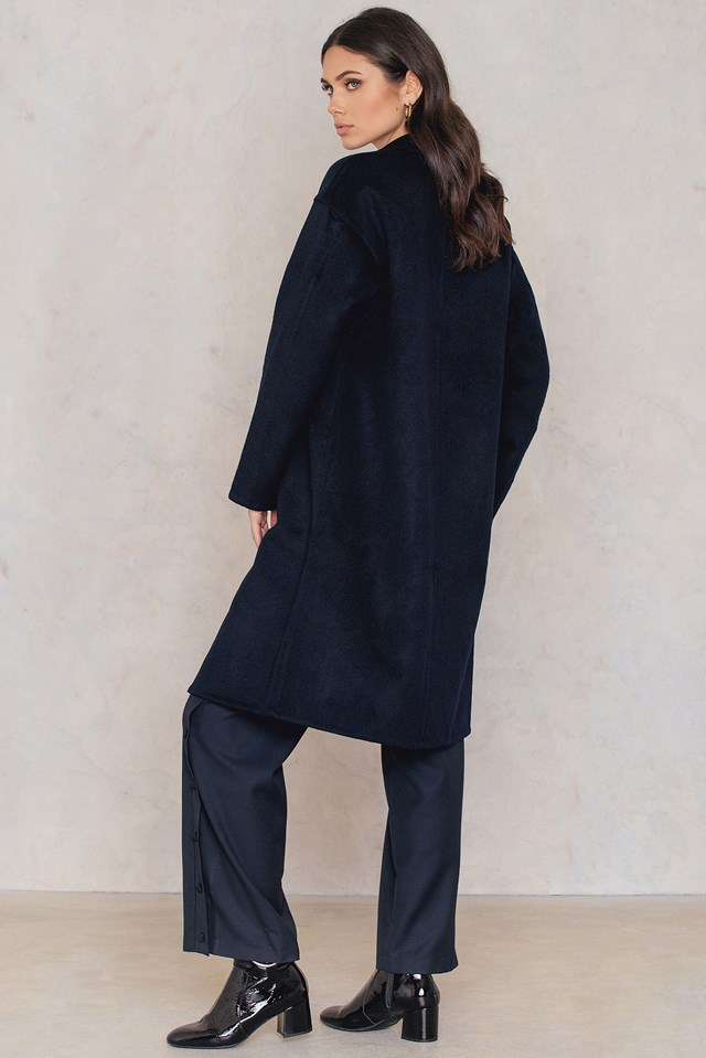 Parker Double Face Wool Coat NA-KD.COM