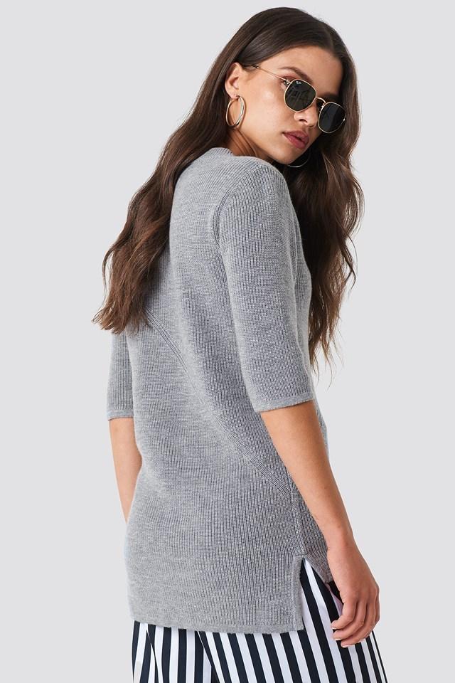 Rib T-Shirt NA-KD.COM