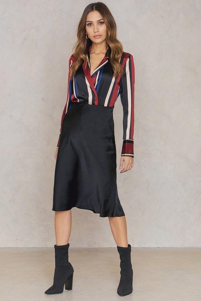 Slinky Skirt Black
