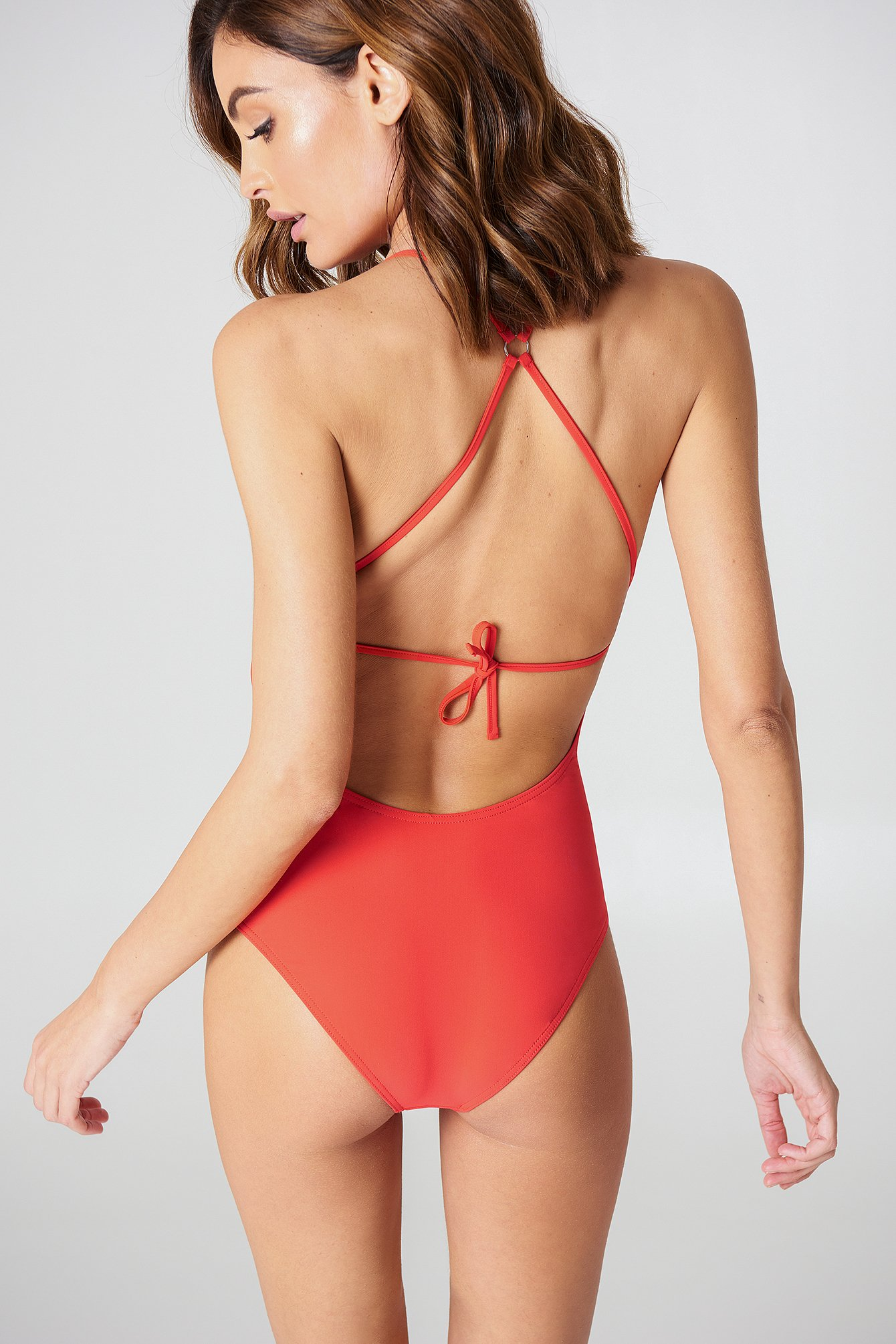 Tie-back Swimsuit NA-KD.COM