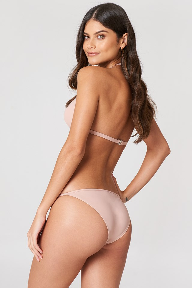 Triangle Bikini Top Pale Pink