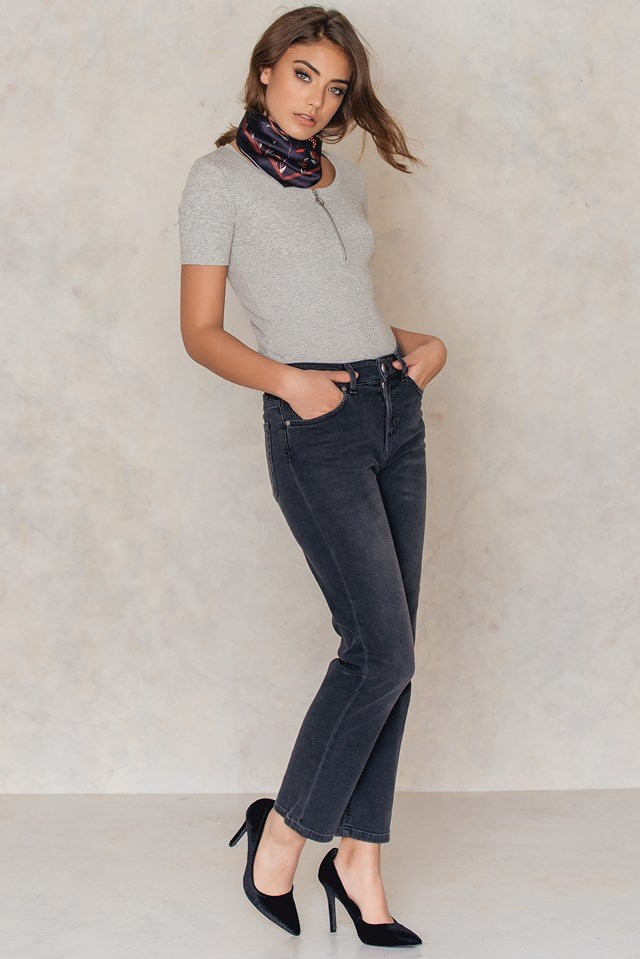 Alex Grey Wash Jeans Grey Wash