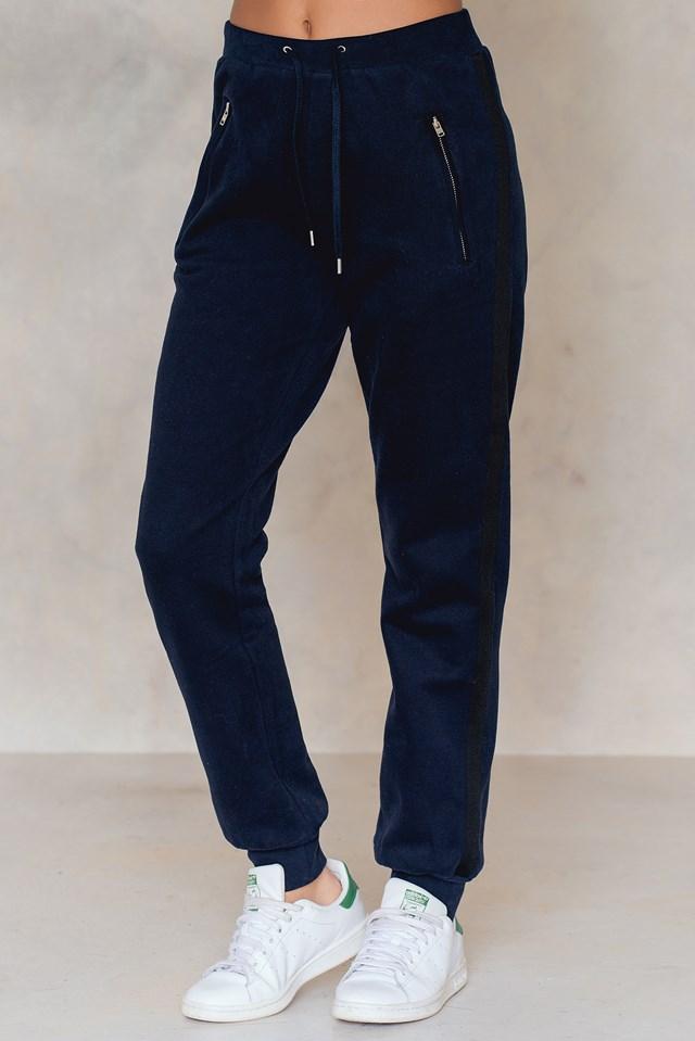 Brushed Sweat Pants Navy