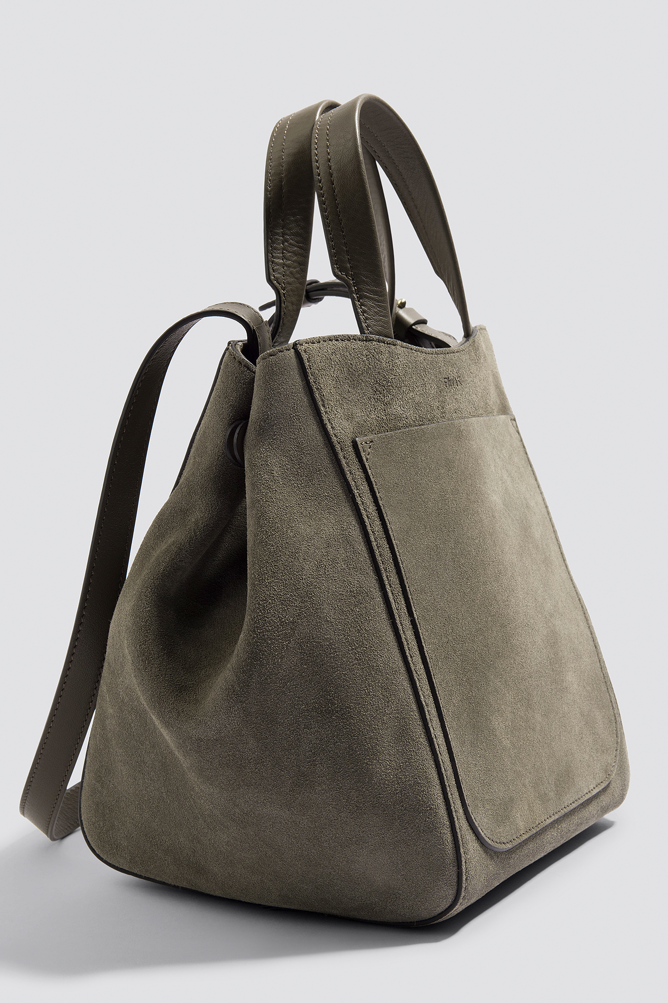 Shelby Mini Bucket Leather Bag NA-KD.COM