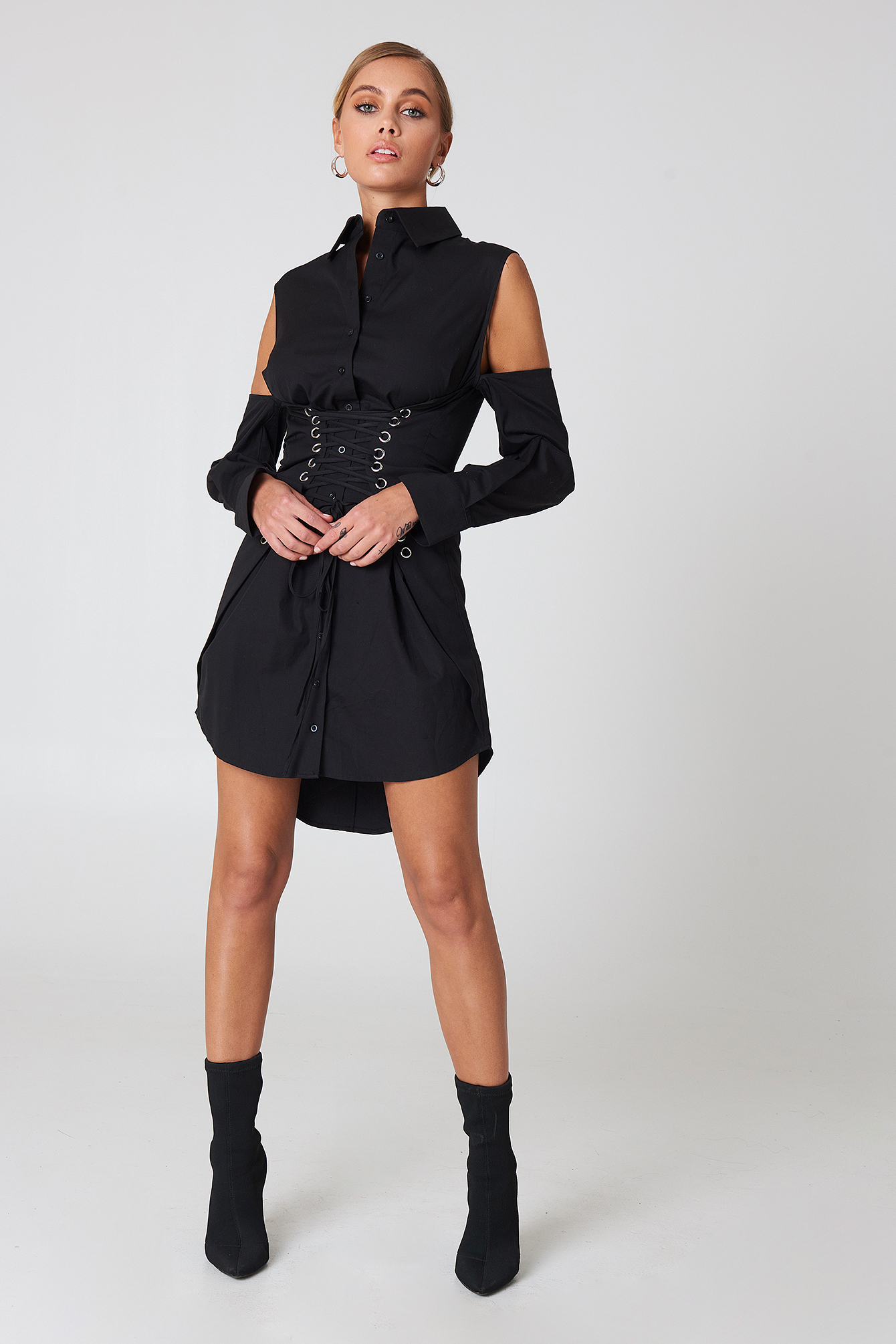 Traction Shirt Dress NA-KD.COM