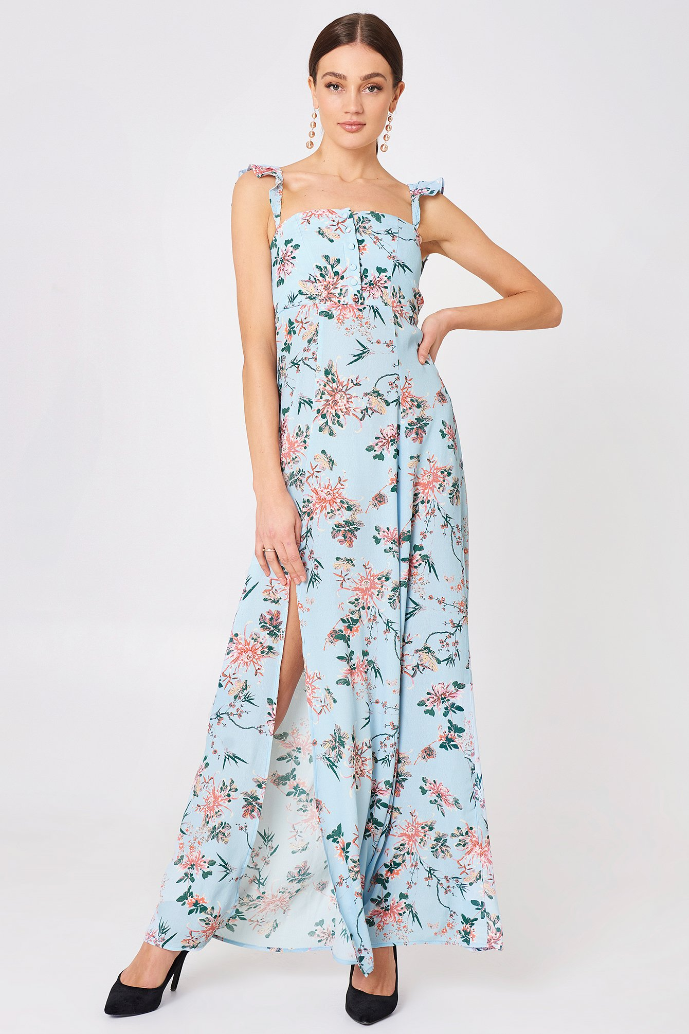 Bardot Maxi Dress NA-KD.COM
