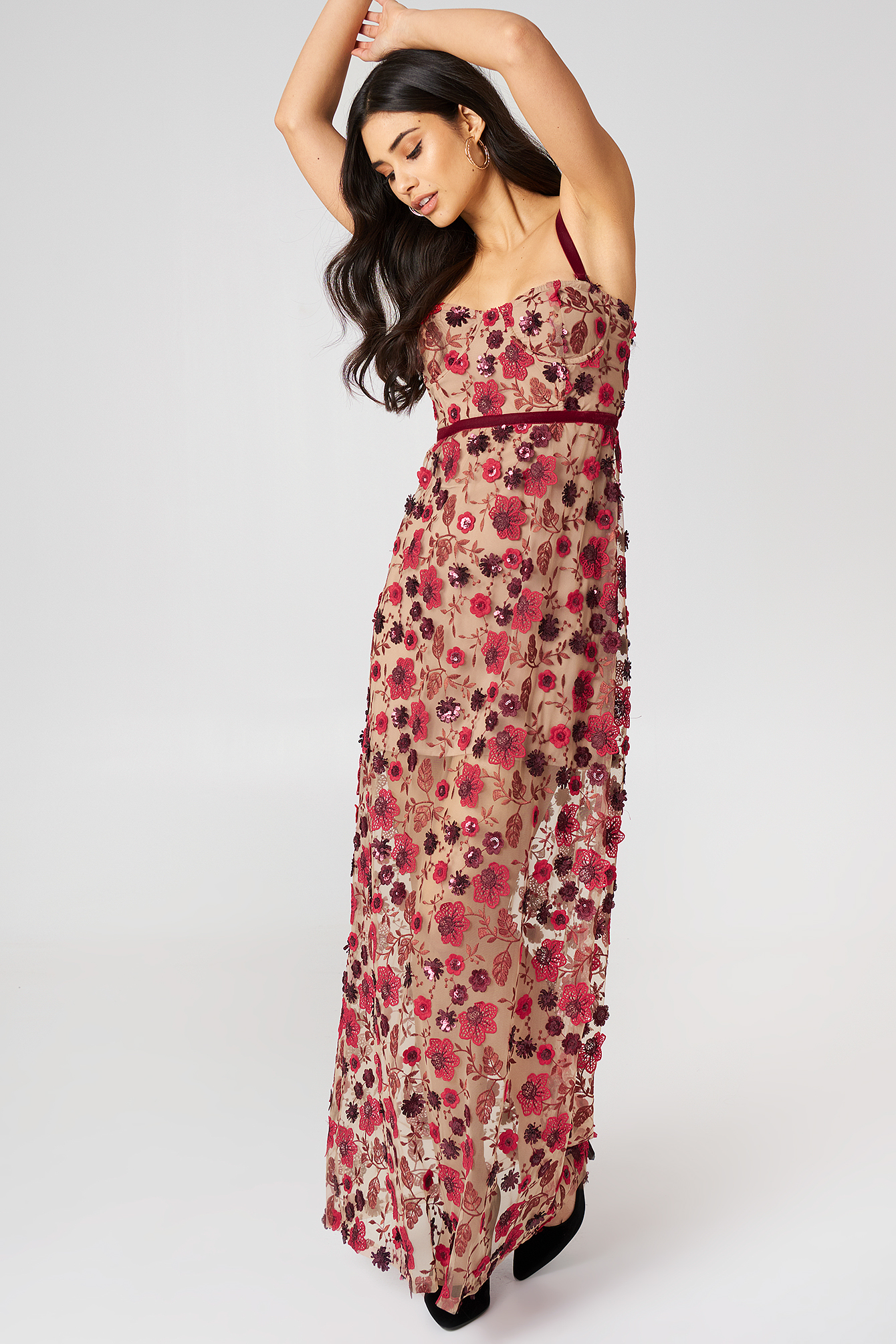 Beatrice Strappy Maxi Dress NA-KD.COM