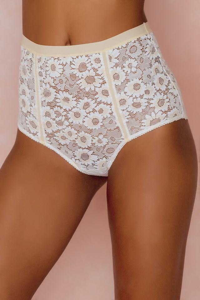 Daisy Hi-Waisted Panty Ivory
