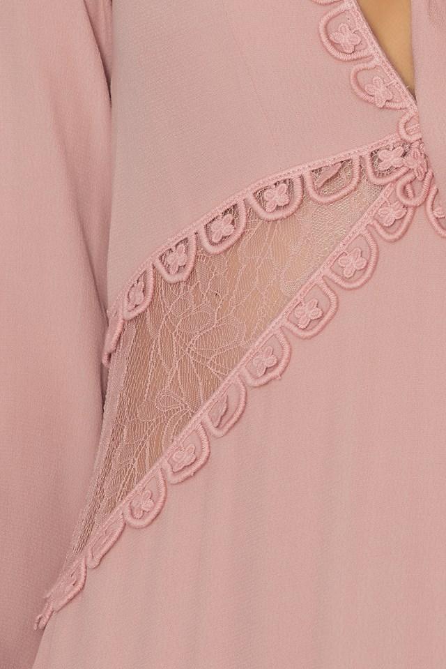 Lilou Midi Dress Dusty Pink
