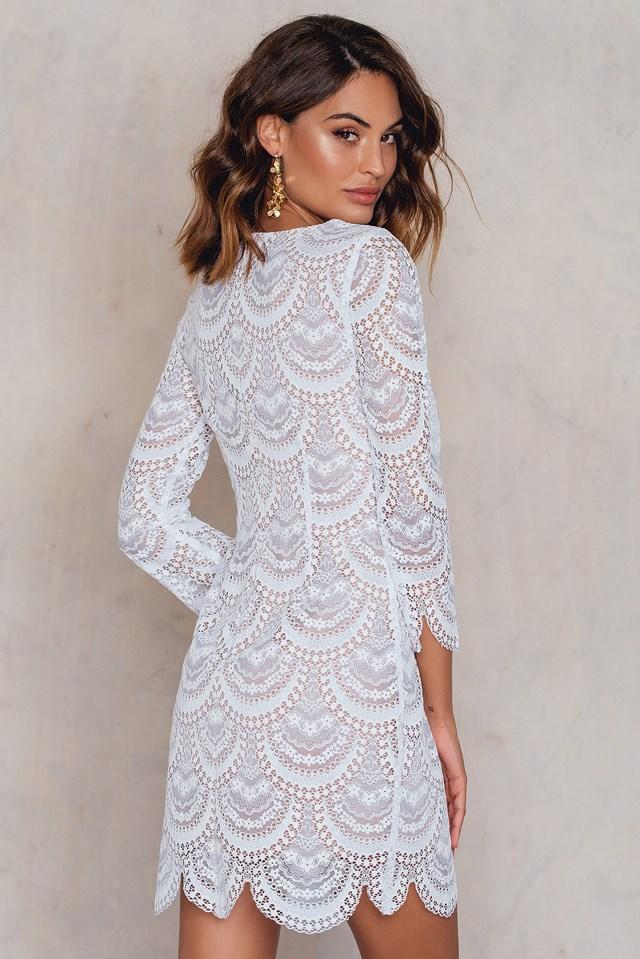 Rosalita Mini Dress White