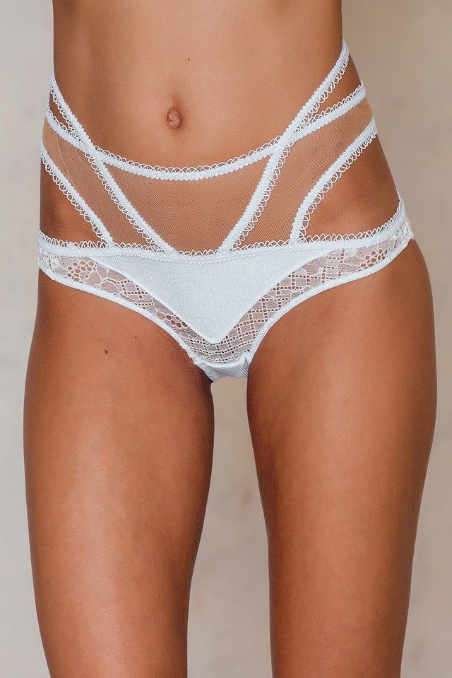 Yvette Bondage Panty Ivory