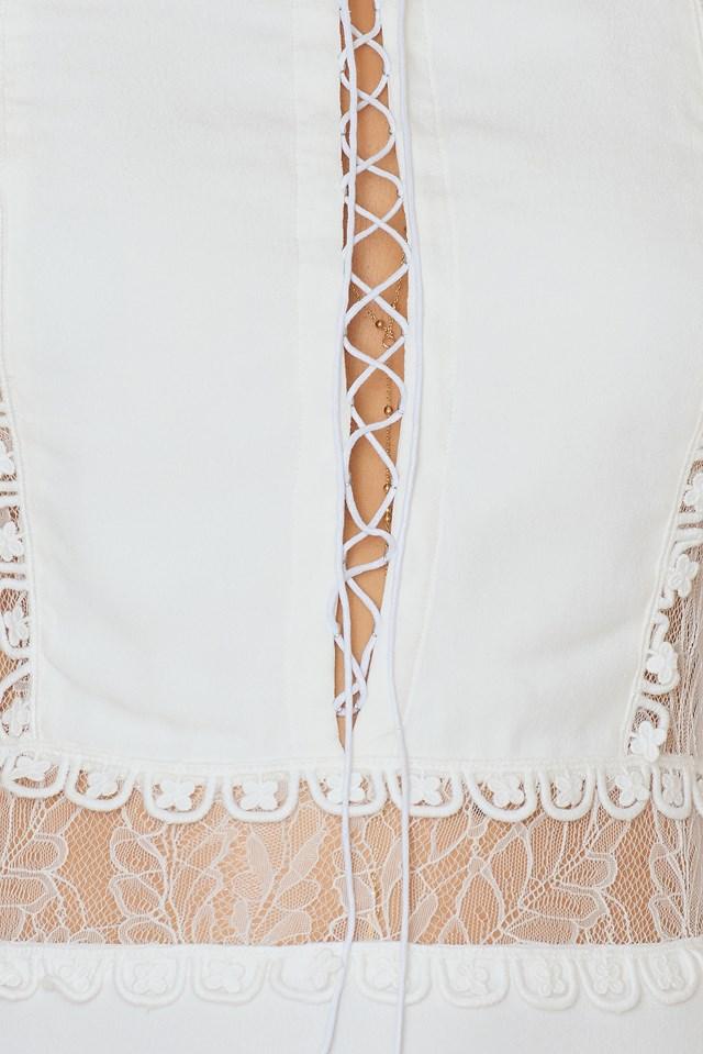 Lola Rose Mini Dress White