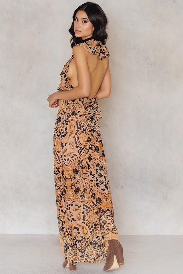 Margot Maxi Dress Goldenrod
