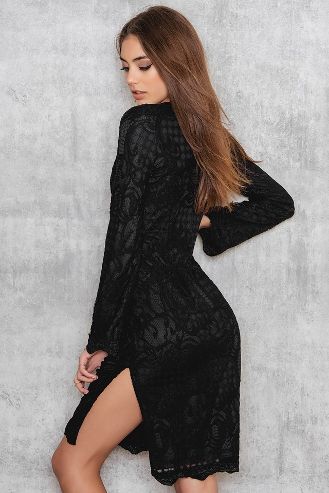 Forni Dress Black