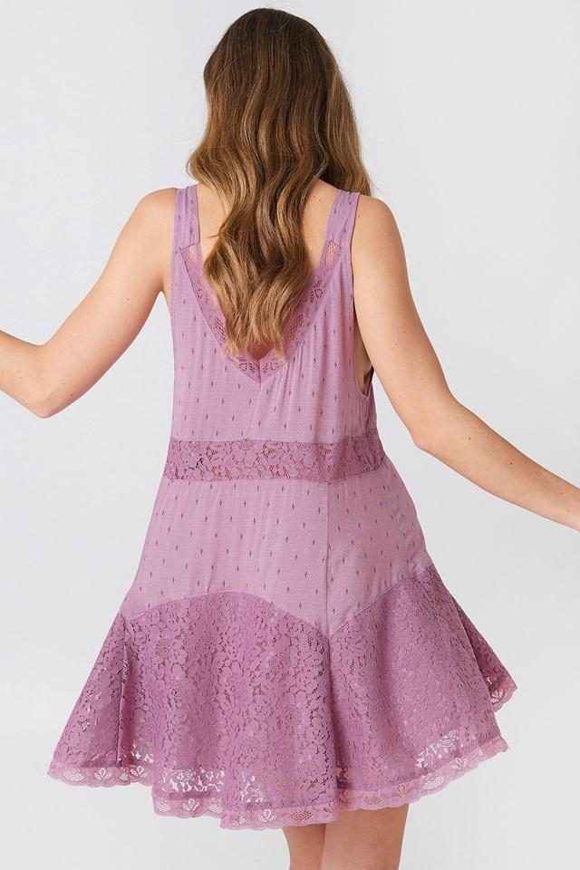 Any Party Slip Dress Mauve