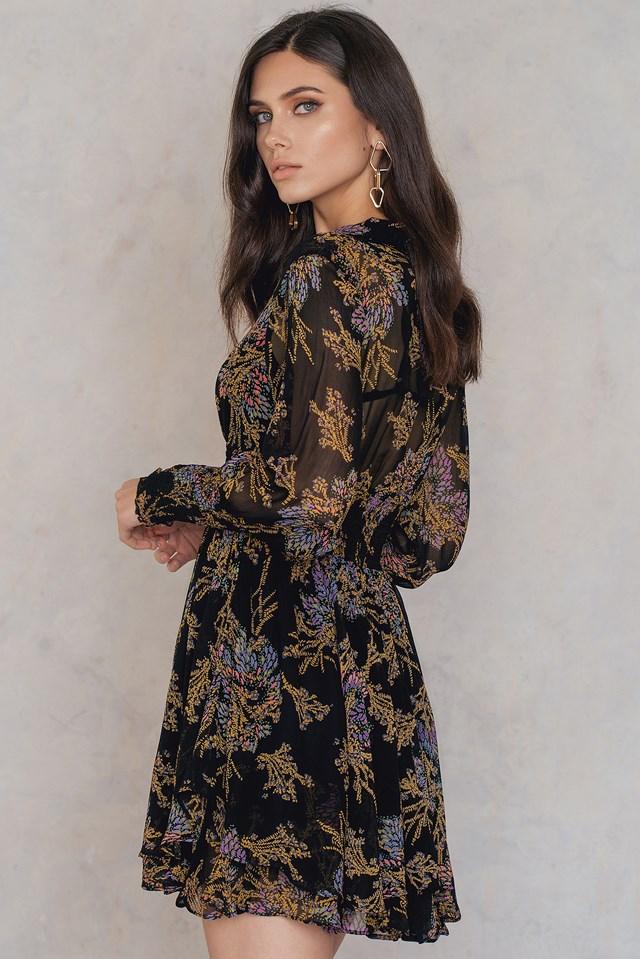 Sukienka Mini Fake Pretend Black Combo