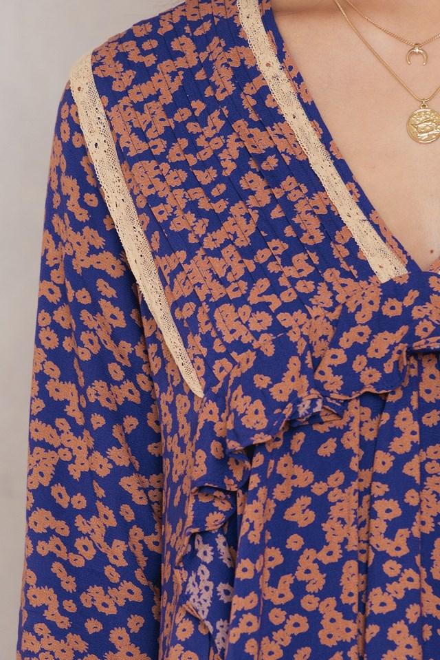 Like You Best Mini Dress Purple Combo