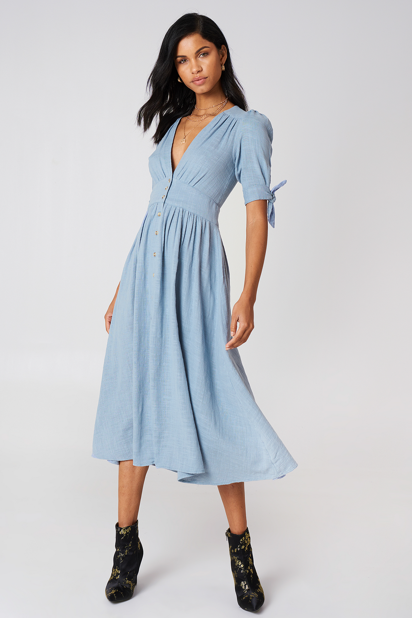 Love Of My Life Midi Dress NA-KD.COM