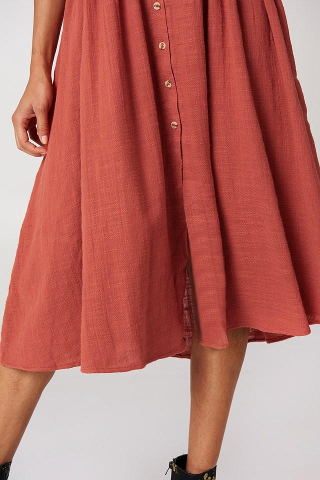 Love Of My Life Midi Dress Burnt Orange