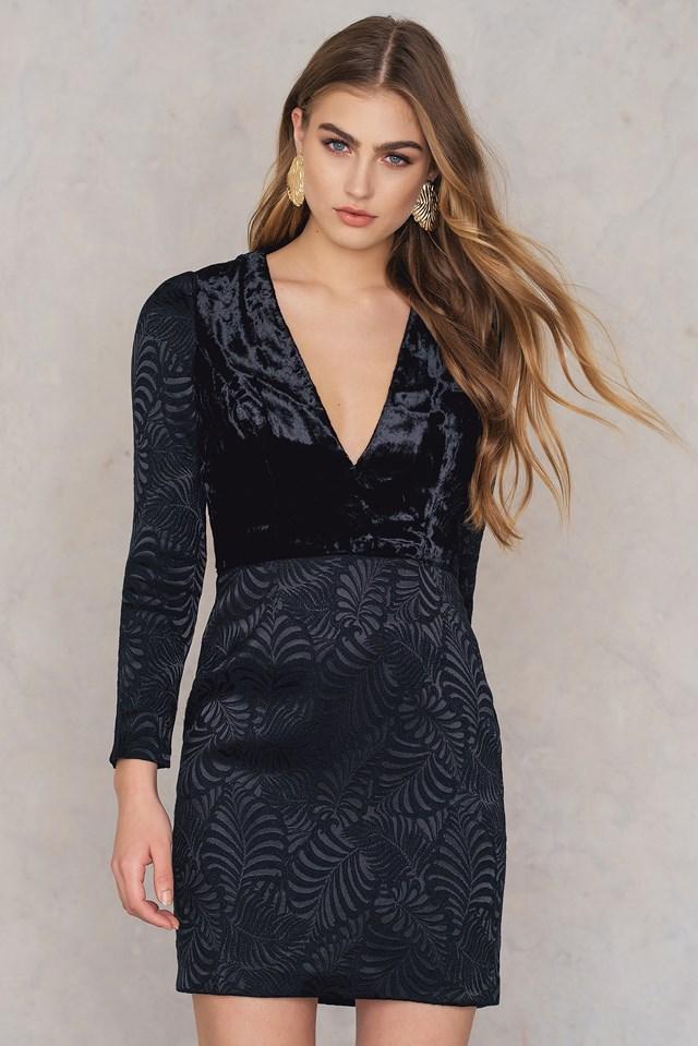 Naomi Mini Dress Black