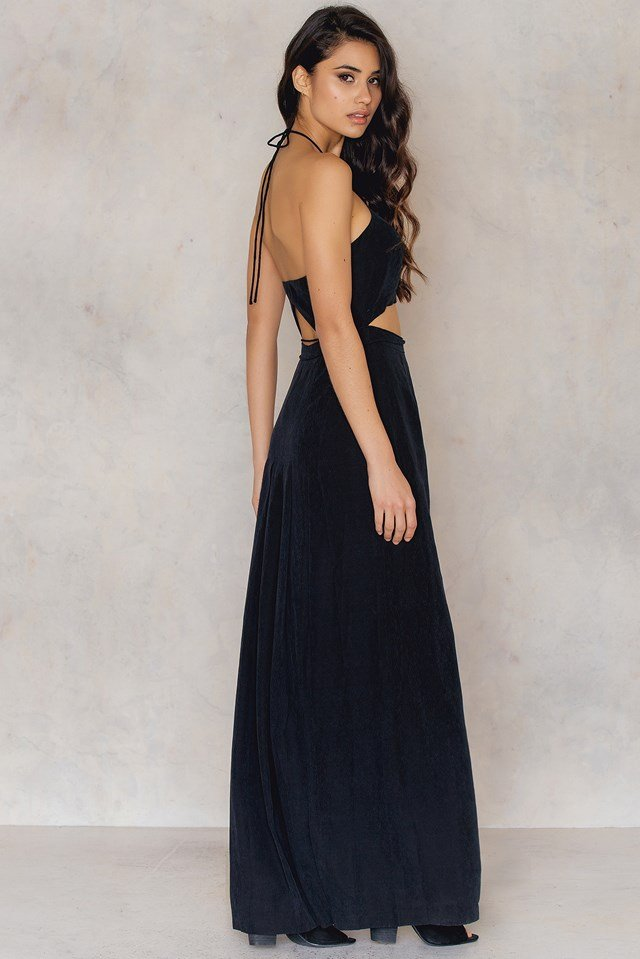 Opium Maxi Dress Black
