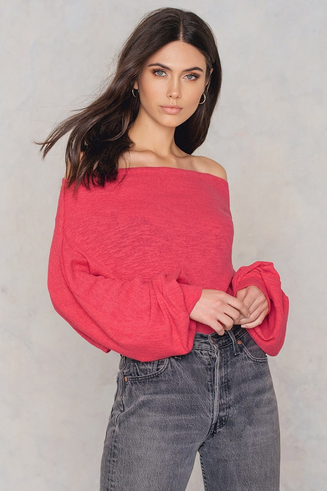 Skyline Thermal Top Red