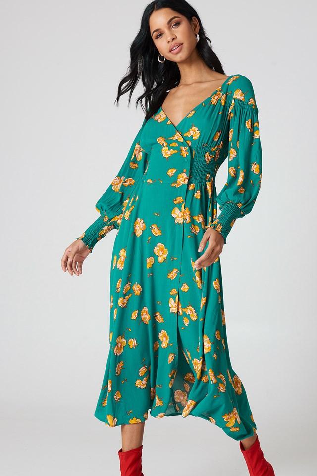 So Sweetly Midi Dress NA-KD.COM