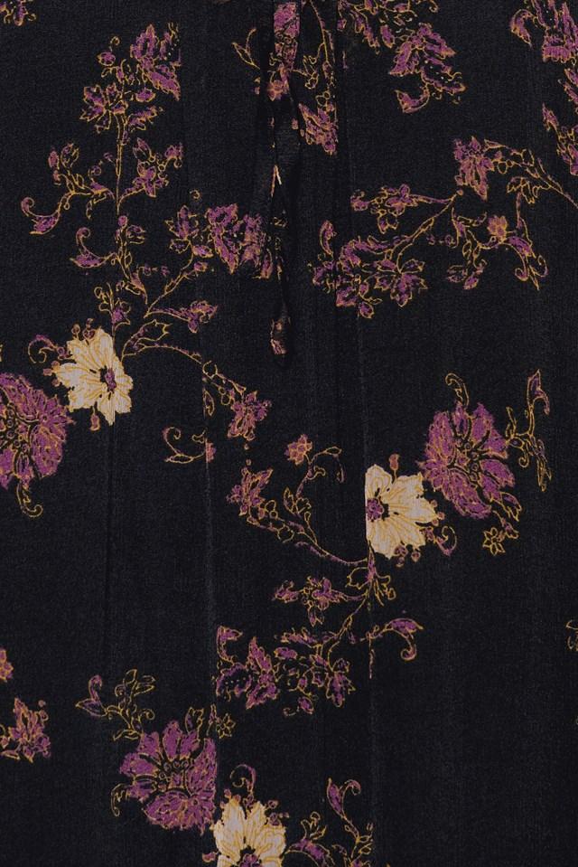 Sunsetter Printed Mini Dress Black Comb
