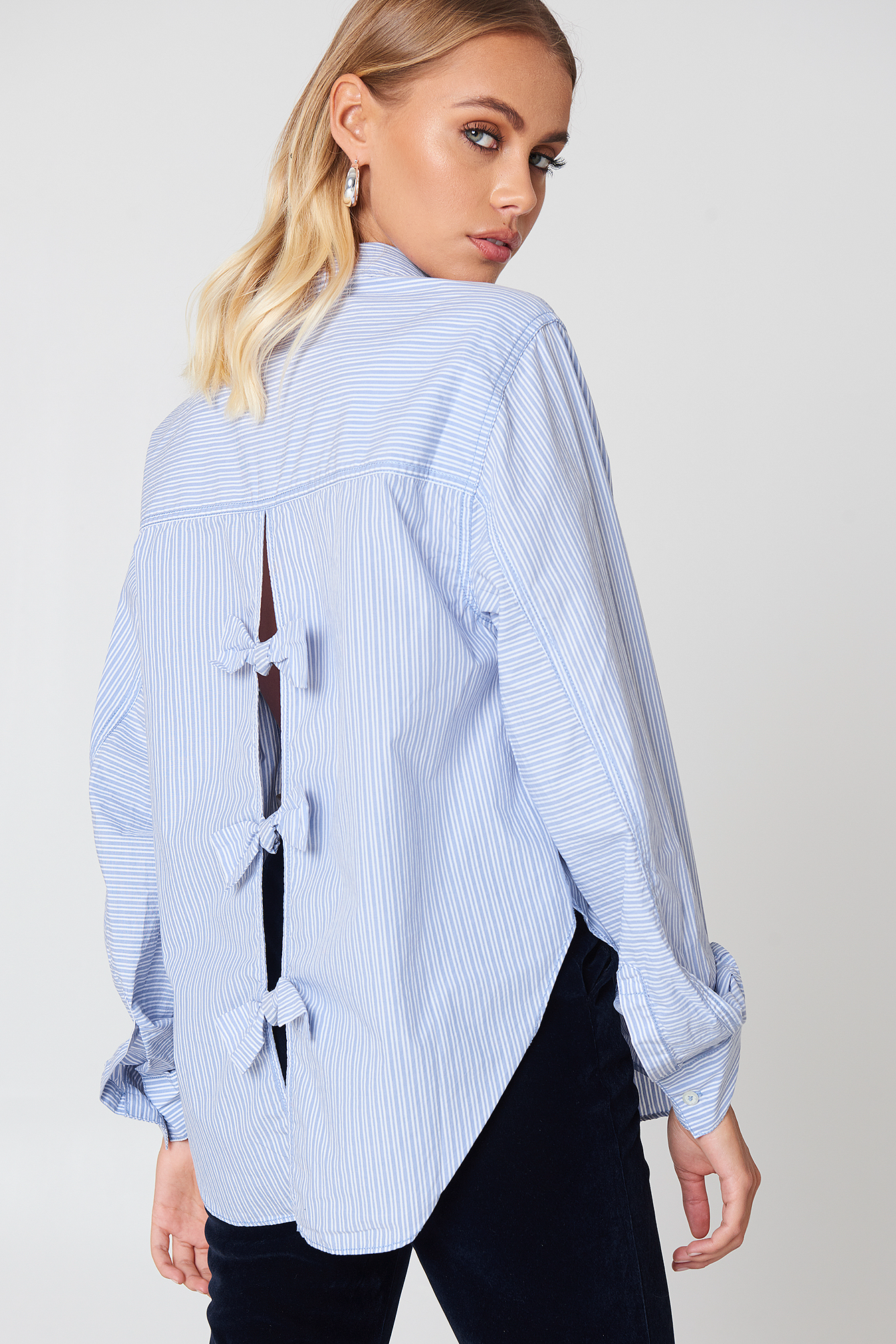 Tie It In A Bow Shirt NA-KD.COM