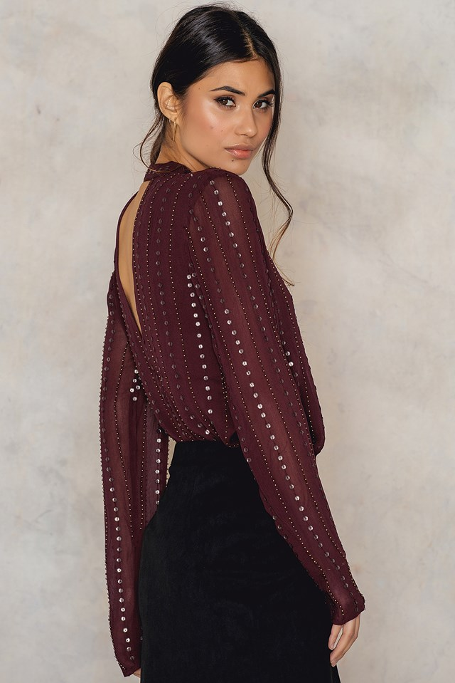 Young Love Top Plum