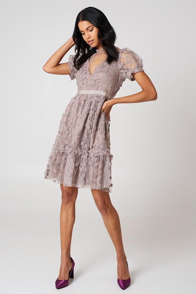 Caballo High Neck Dress Teagown