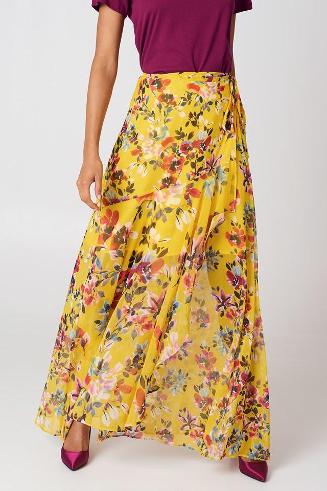 Linosa Maxi Skirt Citrus